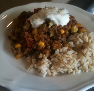 Mexican Beef and Rice